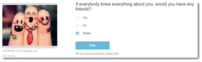 The funny poll