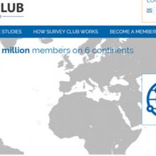 Survey Club front page