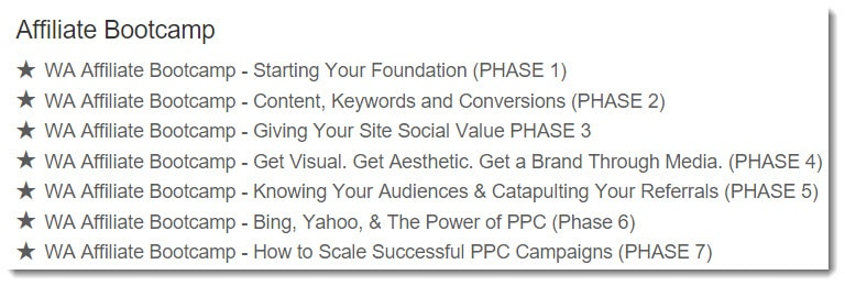 The 7 Phases of the Affiliate Bootcamp