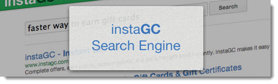 InstaGC seach engine