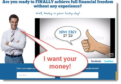 Is euro millionaire system a scam