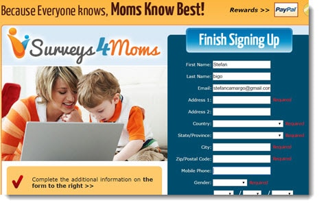 Surveys4Moms