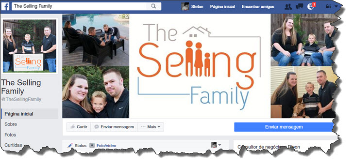 The Selling Family Facebook Group