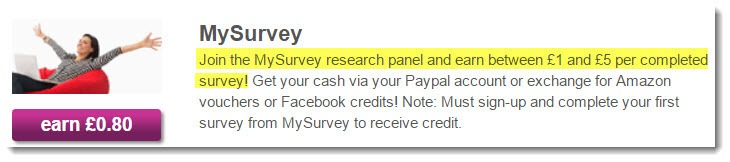 mysurvey offer