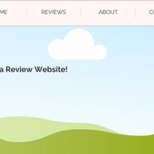 How to create a review website