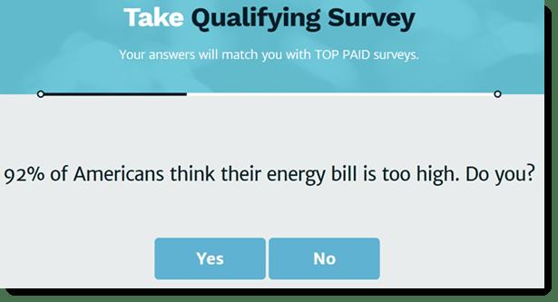 qualifying survey