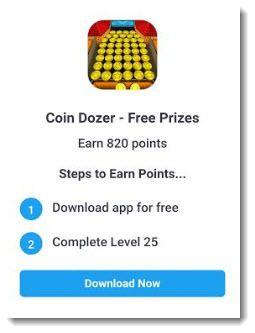coin Dozer offer