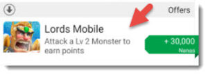lords mobile offer