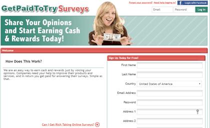 getpaidtotry surveys