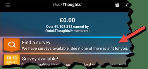 find a survey