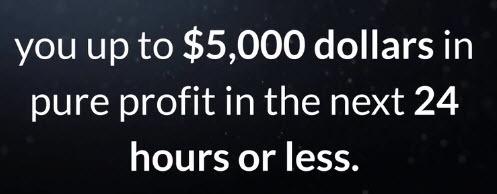 5000 profit