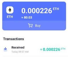 ETH wallet - proof payment