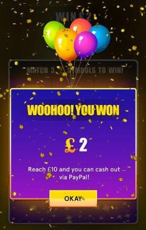 won £2