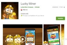 lucky miner app review