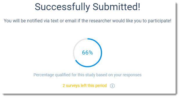 qualification percentage