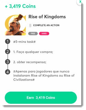 rise of kingdoms offer