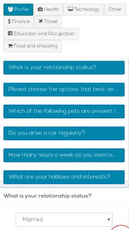 profile surveys