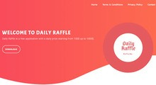daily raffle review (Homepage)