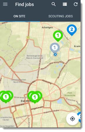 appJobber map