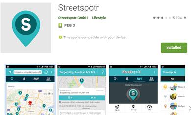 streetspotr app review