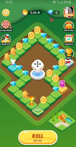coin+ monopoly game