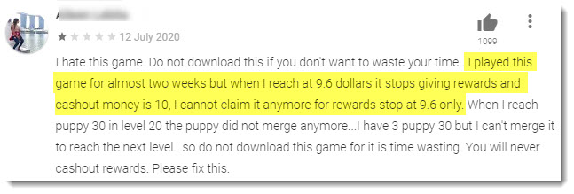 complaint about puppy town