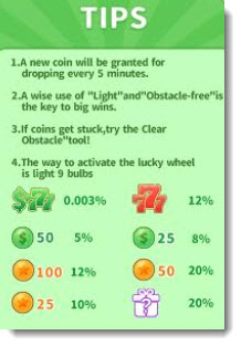 lucky wheel percentage
