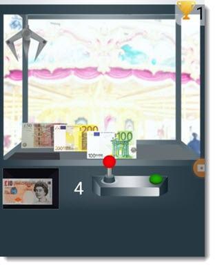 money claw machine app
