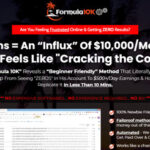 Formula 10K Review – Is it LEGIT? Can You Make $10,000/Month?