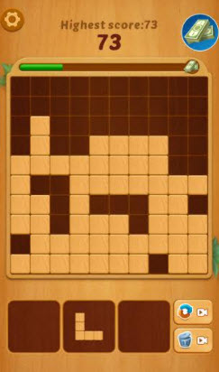 lucky woody puzzle game