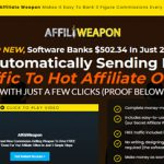 Affili Weapon Review – You Won't Make $502 in 24 Hours!
